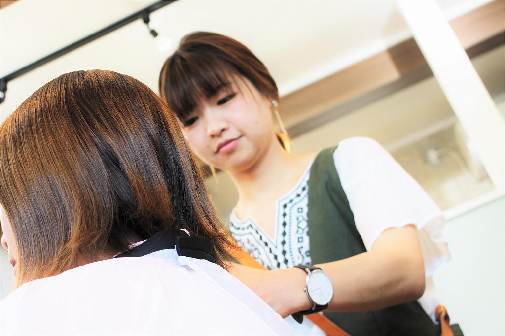 担当者 代表 最初から最後まで hair salon +α
