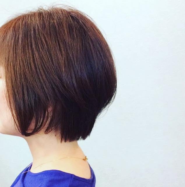 ショート・ボブ かわいい おしゃれ 畝刈町 京泊 美容室 hair salon +α